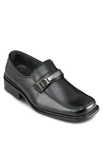 zalora鞋子評價牌飾方頭紳士皮鞋, 鞋, 鞋