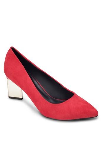 尖頭粗zalora鞋子評價跟高跟鞋, 女鞋, 鞋