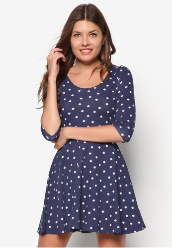 Penny 短袖傘狀連身裙, 服飾, zalora鞋洋裝