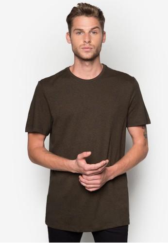 基本款素色zalora 鞋評價TEE, 服飾, 素色T恤