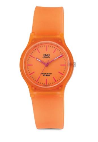 VP46J035Y 糖果zalora退貨色三指針手錶, 錶類, 其它錶帶