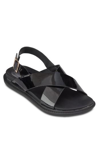 交叉帶繞zalora鞋子評價踝涼鞋, 女鞋, 鞋