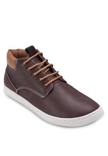仿皮低筒運動鞋, 鞋, zalora開箱休閒鞋