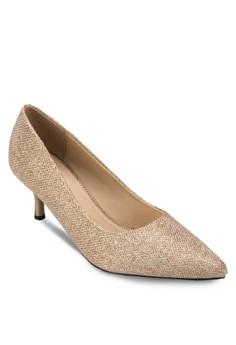Shimmer Low Heels