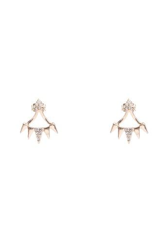 三角形閃飾耳環zalora 心得, 飾品配件, 飾品配件