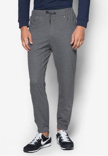 抽繩五zalora 評價口休閒長褲, 服飾, 長褲
