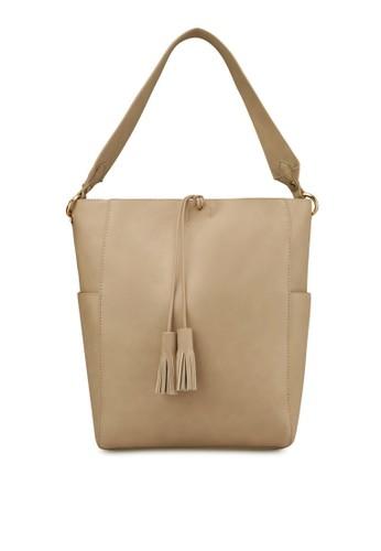流蘇zalora鞋子評價飾帶手提包, 包, 肩背包