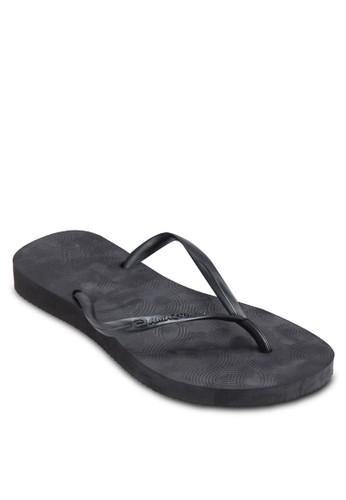 印花夾腳拖, 女鞋,zalora 評價 拖鞋