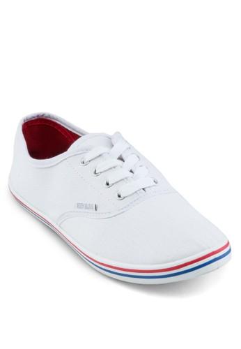 KIM zalora鞋Back To School - 特別版繫帶帆布鞋, 鞋, 鞋