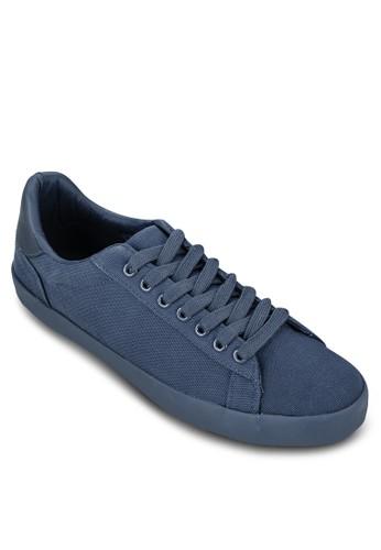 撞色鞋背帆布繫帶休閒鞋,zalora鞋子評價 鞋, 休閒鞋