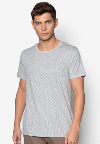 印花短袖TEzalora 評價E, 服飾, T恤