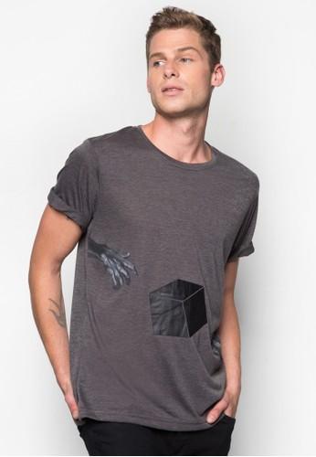 超現實主義zalora開箱設計TEE, 服飾, 印圖T恤
