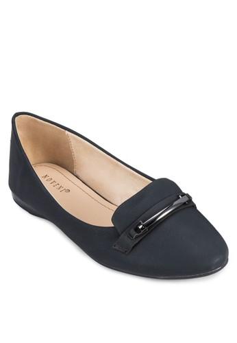 飾帶樂福鞋, zalora 台灣女鞋, 芭蕾平底鞋