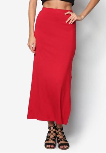側開叉長裙, zalora 心得服飾, 服飾