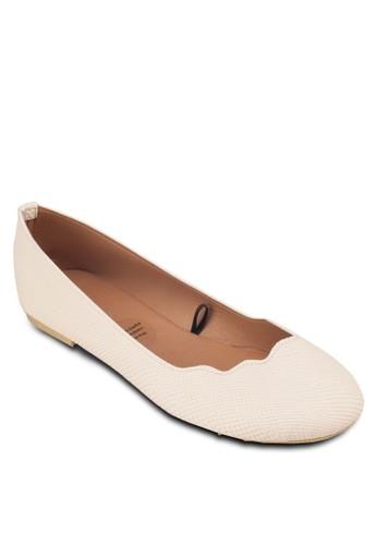 Sammy 扇zalora 評價貝鞋口平底鞋, 女鞋, 鞋