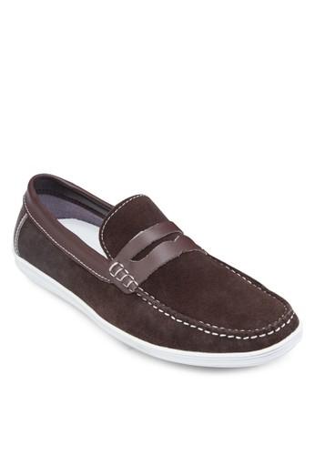皮革樂福鞋,zalora鞋 鞋, 船型鞋