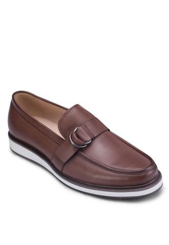 CN-飾帶莫卡辛鞋, 鞋, zalora 評價鞋