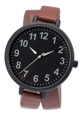 數字雙zalora 台灣圈圓錶, 錶類, 休閒型