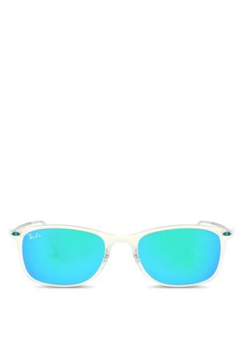 RB4225 透明方框太陽眼鏡, 飾品配件,zalora 心得 飾品配件