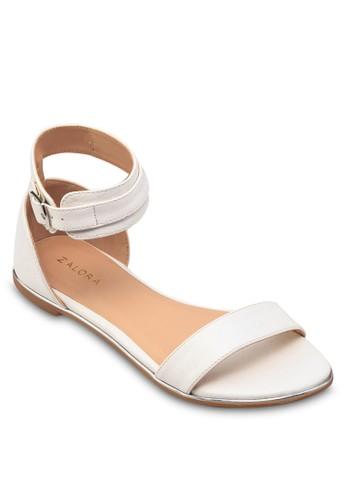 佩斯利暗紋平zalora鞋子評價底涼鞋, 女鞋, 鞋