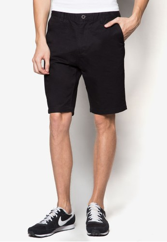 zalora開箱Isaac 棉質短褲, 服飾, 短褲