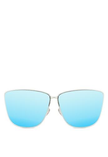 方框反光太陽眼鏡, zalora 鞋評價飾品配件, 方框