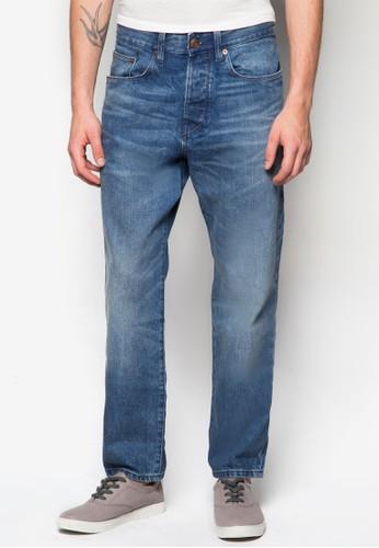 水洗丹寧長褲, 服飾, zalora 鞋評價牛仔褲