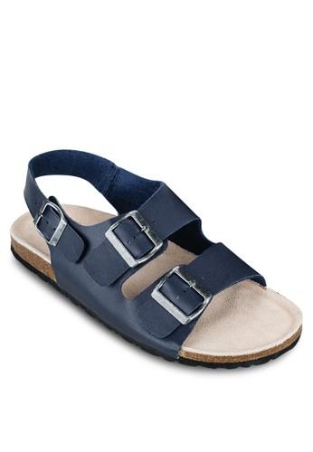 雙扣環zalora鞋子評價繞踝涼鞋, 鞋, 鞋
