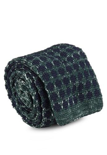 時尚針織領帶, 飾品配件zalora開箱, 領帶