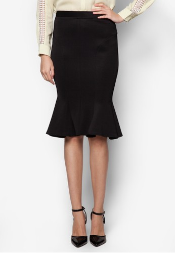 Roxanne 魚尾鉛筆裙, zalora 心得服飾, 服飾