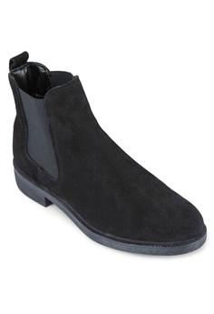 Damien 麂皮短靴