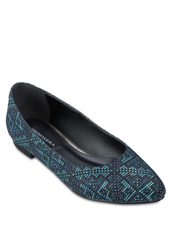 Mexi zalora開箱編織平底鞋, 女鞋, 芭蕾平底鞋