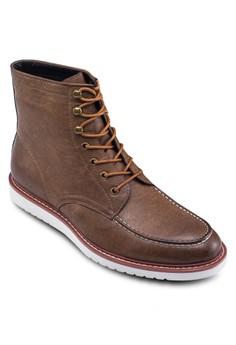 時尚仿皮高筒靴