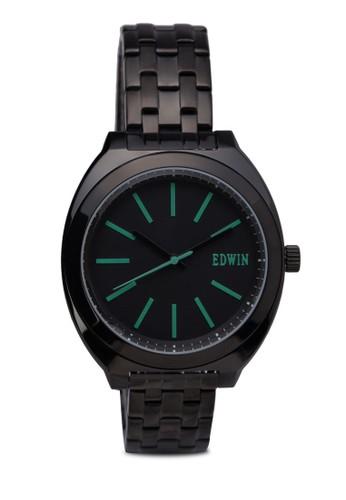 ERA 三指針不zalora 心得銹鋼手錶, 錶類, 不銹鋼錶帶
