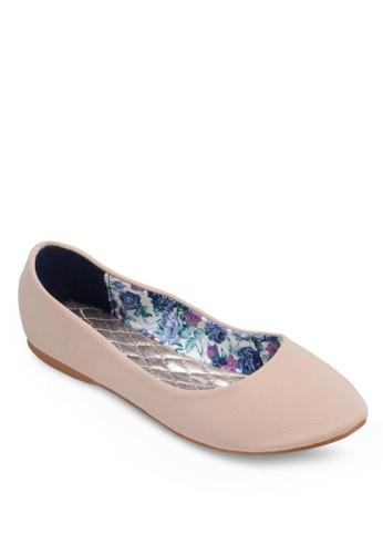 素色尖頭平底鞋, 女鞋, zalora鞋子評價鞋