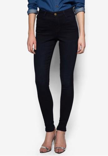 Bzalora 評價ailey 高腰牛仔褲, 服飾, 緊身牛仔褲