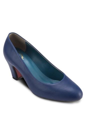 基本款粗跟鞋, 女zalora 評價鞋, 鞋