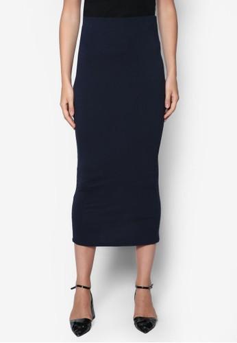 素色高腰裙, 服飾, 裙zalora鞋子評價子