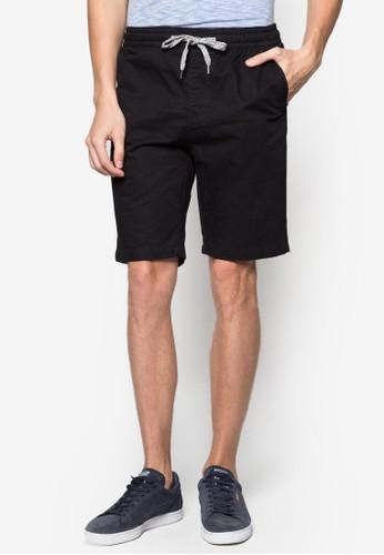 簡約束口棉質短褲, 服飾zalora 台灣, 短褲