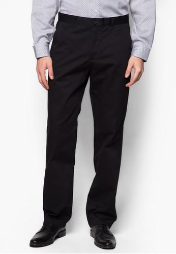 直筒棉質西zalora退貨裝長褲, 服飾, 直筒褲