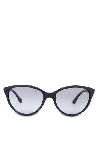 簡約貓眼zalora 評價太陽眼鏡, 飾品配件, 飾品配件