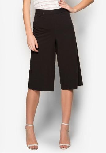 Petitzalora 心得e 寬管直筒五分褲, 服飾, 長褲及內搭褲