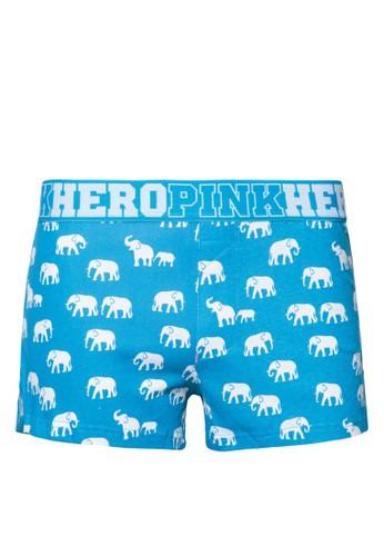 大象印花四角zalora 鞋評價內褲, 服飾, 內褲及襪子