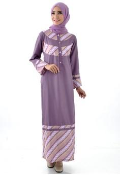 Saqina Gamis Batik Parang