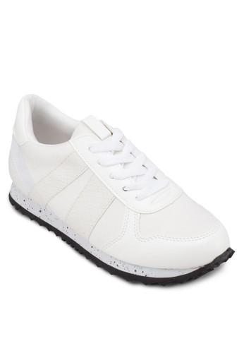 繫帶休閒運動zalora開箱鞋, 女鞋, 休閒鞋