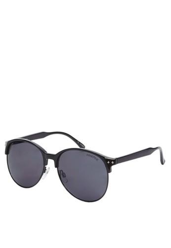 漸層圓框太陽眼鏡, 飾品配件, 飾品zalora 台灣配件