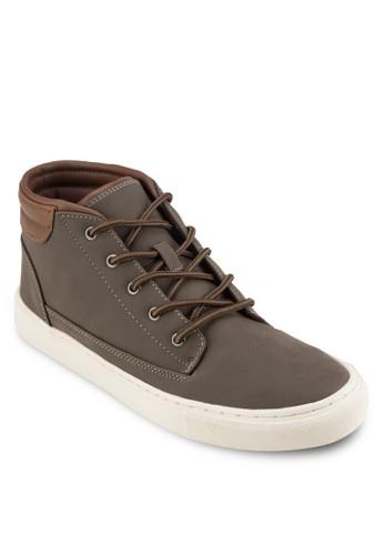 繫帶低筒靴, zalora鞋鞋, 靴子