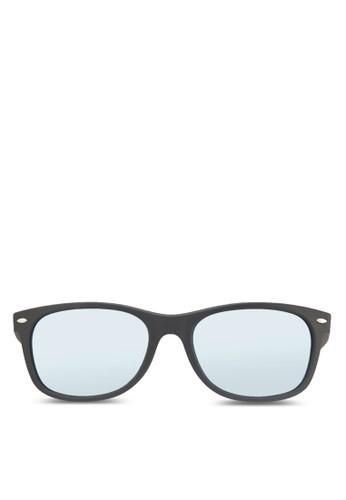 New zalora 台灣Wayfarer (F) 太陽眼鏡, 飾品配件, 長框