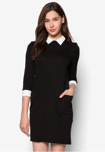襯衫式長袖連身裙, 服飾, zalora 心得洋裝