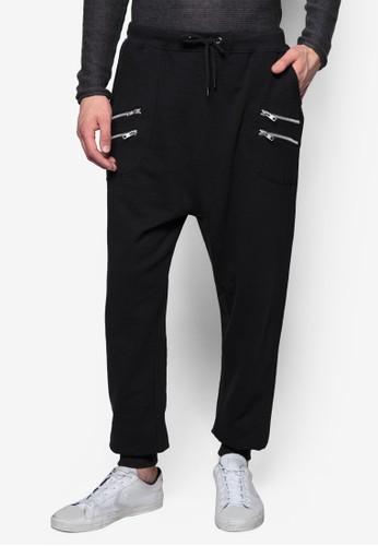 Beal 寬鬆休zalora 評價閒長褲, 服飾, 直筒褲